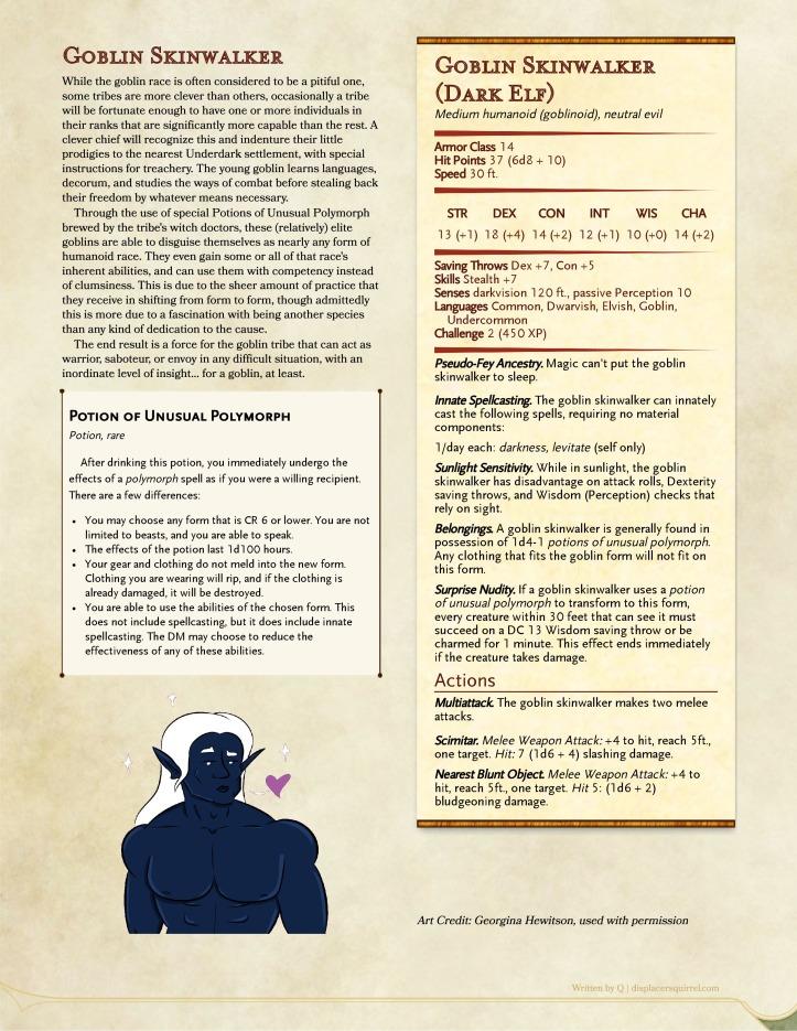 Goblin Skinwalker _ GM Binder-page-0 (1)